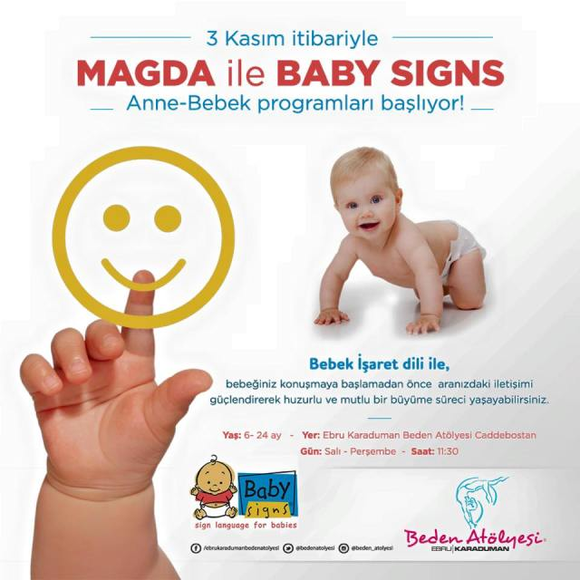 baby signs in been atölyesi